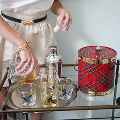 #Tis the season # tuckernuck...Tartan Plaid Ice Bucket for your host
