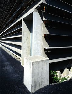 Ricola Storage Building (1987) Laufen | Herzog & de Meuron | Photo : Margherita Spiluttini