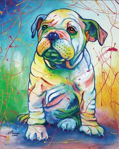 Steven Schuman Artwork. LOVE IT! Think i will send in a pix of my pup and get a portrait :)