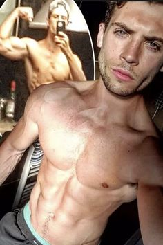 Emmerdale hunk Ned Porteous who plays Joseph Tate gets fans pulses racing as he strips down for endless TOPLESS pictures Shirtless Men, Plays, Fashion News, Joseph, Racing, Fan, Swimwear, Pictures, Beauty