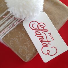 """From Santa Gift Tags 