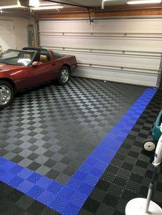 49 Garage Floor Design Ideas That You Can Try In Your Home Toboto Net Garage Floor Tiles Garage Tile Garage Interior