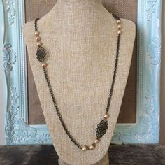 We have lots of new items and we've pick some of our favorites.    Get Yours Today.  http://www.femailcreations.com/p/Brass-and-Pearls-Jewelry-2163304-2163305-2163326-2163327