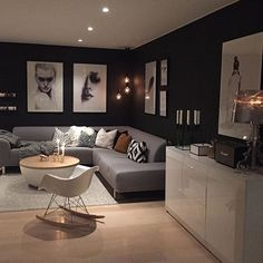 Pin by sideline gallery on art collections & display in 2019 ev dekoru, Living Room Designs, Living Room Decor, Living Spaces, Room Colors, Home Interior Design, Home And Living, Family Room, House Design, Home Decor