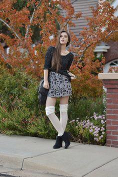 October Fest on Arizona Girl Blog #black ankle boots -  #shellystuckman.com