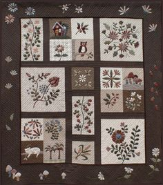 japanese applique quilts | Yoko Saito Quilt Revealed