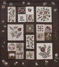 japanese applique quilts   Yoko Saito Quilt Revealed
