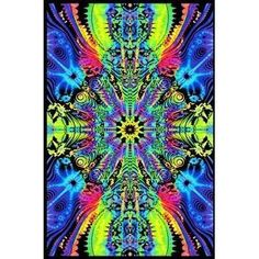 23 x psychedelic black light poster. Down the wormhole optical illusion black light poster. Psychedelic Art, Psychedelic Effects, Poster On, Poster Prints, Art Prints, Art Posters, Fantasy Posters, Black Light Room, Hippie Posters