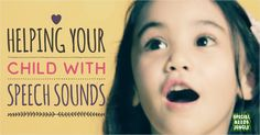 Some top tips to help your child develop speech sounds without a speech therapist from Helen on Soecial Needs Jungle Articulation Therapy, Speech Therapy Activities, Speech Language Pathology, Language Activities, Speech And Language, Speech Delay, Parent Communication, Language Development, Helping Children