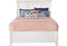 Shop for a Belmar White 3 Pc Queen Bed at Rooms To Go. Find Queen Beds that will look great in your home and complement the rest of your furniture. #iSofa #roomstogo
