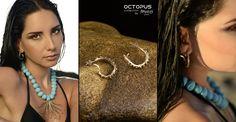 Earrings & Necklace OCTOPUS