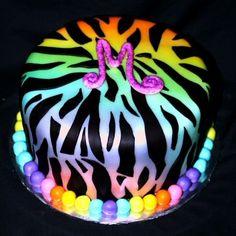 Zebra Print Birthday Cakes | rainbow-zebra-print-cake-mdash-birthday-cakes-23316.jpg