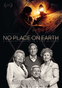 No Place on Earth (UK) 27x40 Movie Poster (2013)