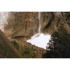 Yosemite Snow Cone #michaelrthompsonfilm