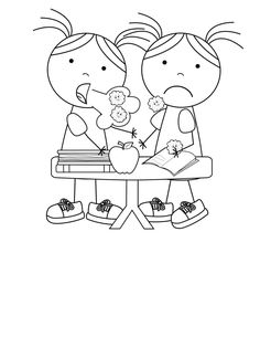 Kids Health Kid Color Pages: A Sick Day and Spreading Germs - What better way to learn about germs and resting when you're sick than to do so with kid color pages. These pages are perfect to share with your kids at the Wuhan, Preschool Kindergarten, Kindergarten Worksheets, Preschool Crafts, Daycare Crafts, Color Activities For Toddlers, Toddler Activities, Health Activities, Fitness Activities