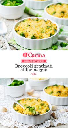 #Broccoli gratinati al #formaggio