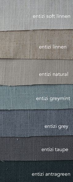 Entizi is een mooie zware gordijnstof met 20% linnen. Soepel en stoer. In mooie vergrijsde tinten.Geschikt voor gordijn en vouwgordijn.