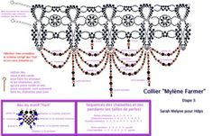 Free pattern. ~*~*~*~*~ (page 8 of 13 pages) Found instructions at these 2 sites: http://biser.info/node/77234 http://biser.info/node/53830 Схема MF | biser.info - всё о бисере и бисерном творчестве