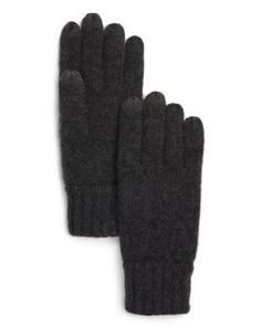 128994ace8f The Men s Store at Bloomingdale s Knitted Tech Gloves - 100% Exclusive Men  - Hats