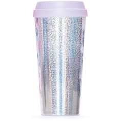 Miss Selfridge Holographic Thermal Mug ($25) ❤ liked on Polyvore featuring home, kitchen & dining, drinkware, fillers, food, random stuff, assorted and miss selfridge