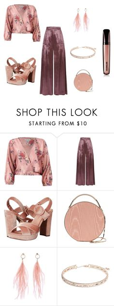 Disco Boho by cypress-soleil on Polyvore featuring Sans Souci, Temperley London, Madden Girl, Eddie Borgo, Anne Klein, Ana Accessories and Hourglass Cosmetics