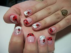 Ladybugs - Unhas Decoradas | Ej Nails Hair