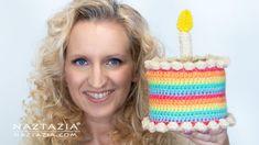Crochet Birthday Cake DIY Single Crochet Stitch, Basic Crochet Stitches, Crochet Basics, Crochet Patterns, Crochet Borders, Crochet Food, Diy Crochet, Crochet Baby, Birthday Party Hats