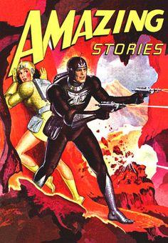 The Geeky Nerfherder: Sci-Fi, Fantasy & Horror Cover Art: Robert Gibson Jones (Part 2 - The Pulp Fiction Kunst, Science Fiction Kunst, Science Fiction Magazines, Art Pulp, New Retro Wave, Sci Fi Comics, Comic Poster, Pulp Magazine, Magazine Covers