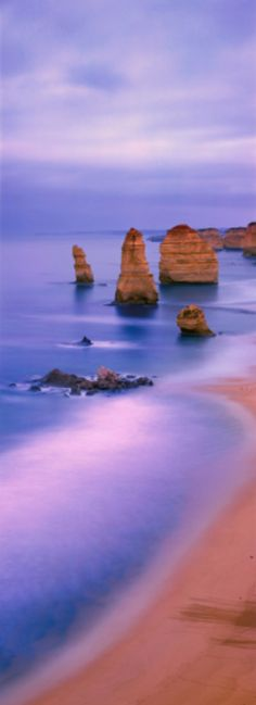 Ethereal dawn at The Twelve Apostles in Port Campbell National Park, Victoria, Australia • photo: Ken Duncan
