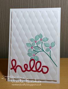 Neet & Crafty: Muse #152 - A Leafy Hello