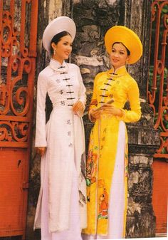 Robe traditionnelle Vietnamienne