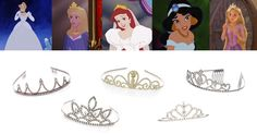 People are wearing tiaras IRL and it's awesome | Tiara accessories inspired by Disney Princesses | [ https://style.disney.com/fashion/2016/05/24/people-are-wearing-tiaras-irl-and-its-awesome/ ]