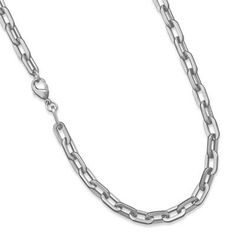 MEN'S 22 INCH 316L Stainless Steel Link Chain by ForsgateJewelry, $38.98