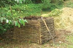 Hazel compost screen