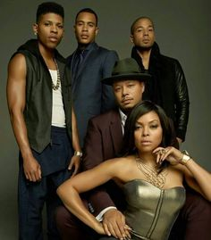 The Lyon's: Hakeem, Andre, Jamal, Lucious and Cookie
