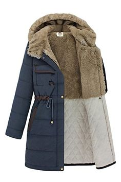 Pink Queen® Women's 2014 Winter Long Thicken Outerwear Coat Parkas S-XXL Pink Queen® 2014 Winter Long Tunic Thickening Jacket Coat For Women S-XXL Material:wool Fall Winter Outfits, Winter Wear, Winter Fashion, Outfit Essentials, Outdoor Coats, Coats For Women, Clothes For Women, Outdoor Fashion, Outdoor Wear