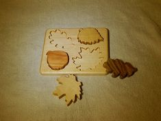 Educational Toys For Toddlers, Busy Board, Waldorf Toys, Wood Toys, Coasters, Puzzle, Leaves, Etsy, Wooden Toy Plans