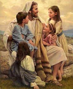 Jesus, so great he is on my list twice.  I want to be one of those children!