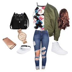 ~xoxo~ by kaileymontessss on Polyvore featuring adidas Originals, Vans, MICHAEL Michael Kors, Michael Kors, NIKE, womens clothing, women, female, woman and misses