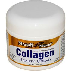 Mason Vitamins, Collagen Beauty Cream, Pear Scented, 2 oz (57 g)