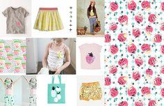Pattern Observer Children's Trends: Tutti Fruit Kids Nightwear, Kids Prints, Kind Mode, Print Patterns, Kids Fashion, Girls Pyjamas, Fruit Pattern, 2016 Trends, Surface Pattern
