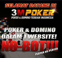 3MPOKER.com Agen Judi Poker Domino QQ Ceme Online Terpercaya - Situs Judi Online Terpercaya Indonesia