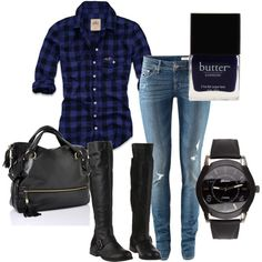 blue biker if I were a fancy biker chick I'd wear thisss Casual Outfits, Cute Outfits, Fashion Outfits, Womens Fashion, Rock Outfits, Fall Winter Outfits, Autumn Winter Fashion, Biker Chick Outfit, Grunge
