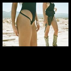 @MINIMALE ANIMALE Everybody's Talkin' Swimsuit