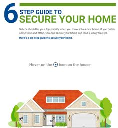 Read the infographic and know about the 6 steps guide to secure your home: http://bit.ly/2lK33PL