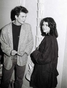 Winona Ryder y Christian Slater, 1988 Winona Ryder, Johnny And Winona, Jason Dean Heathers, Jd Heathers, Heathers The Musical, Young Christian Slater, Hollywood Actresses, Actors & Actresses, Jd And Veronica