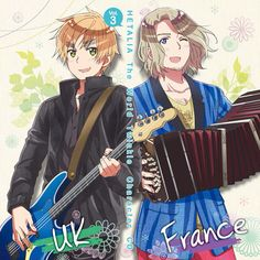 Hetalia (ヘタリア) - The World Twinkle Character CD 3 - England & France