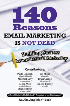 This book is all about Email Marketing and why many businesses, especially those in B2B, see more success in this realm than any other channel. It digs into the many facets of Email Marketing through conversations with #ThoughtLeaders.