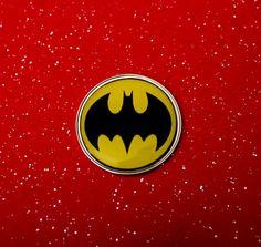 Batman Metal Disk Circular Fridge Magnet by UnofficiallyOriginal