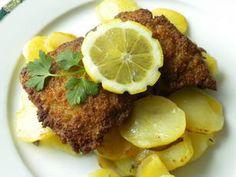 L'escalope viennoise (Wiener Schnitzel) est une fine escalope de veau pannée.